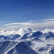 Stock Photo: Snow-capped mountains