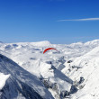 Stok fotoğraf: Sky gliding in Caucasus Mountains