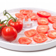 Fresh tomato prepared to dehydrated — Stock Photo #19717107