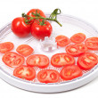 Fresh tomato prepared to dehydrated — Stock Photo #20869625