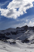 Snow mountains — Stock Photo