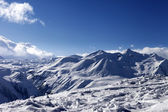 Snow mountains in nice day — Stock Photo