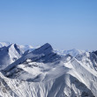Snowy winter mountains — Stockfoto