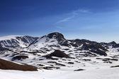 山中雪 — 图库照片