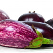 Different varieties of eggplant — Stock Photo #33066873