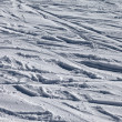 Stock Photo: Background of off-piste ski slope