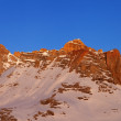 Sunrise at snowy mountains — Стоковое фото #36364477