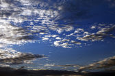 Sky with clouds at nice summer evening — Стоковое фото