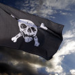 Jolly Roger (pirate flag) — Stock Photo