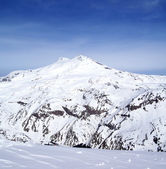 Panoramic view on mount Elbrus — Stock fotografie