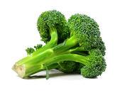 Broccoli isolated on white background — Stock Photo