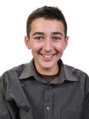 Joyful teenager boy — Stock Photo