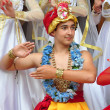 Teenage boy in traditional Indian clothing and jeweleries — Stock Photo
