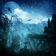 Abstract Halloween backgrounds for your design — Stock Photo #12749317