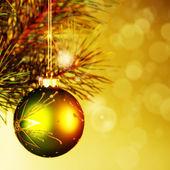 Bola de decoração de Natal — Fotografia Stock