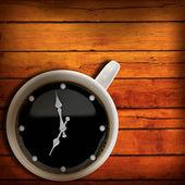 コーヒー タイム。あなたの設計の抽象的な背景 — ストック写真
