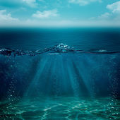 Abstract underwater backgrounds for your design — Stock Photo