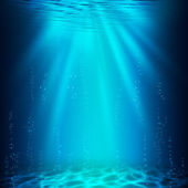 Abyss. Abstract underwater backgrounds for your design — Stock Photo