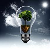 Energia no interior — Foto Stock