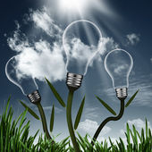 Abstract alternative energy backgrounds — Stock Photo