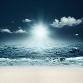 Prachtige zee. abstracte mariene achtergronden voor uw ontwerp — Stockfoto