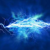 Efekt elektrické osvětlení, abstraktní techno pozadí pro váš design — Stock fotografie