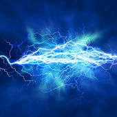 Electric lighting effect, abstract techno backgrounds for your design — Stock Photo