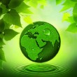 Green Earth. Abstract environmental backgrounds — Stock Photo #22260053