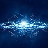 Efekt elektrické osvětlení, abstraktní techno pozadí pro vaše d — Stock fotografie