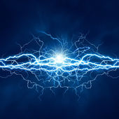 Electric lighting effect, abstract techno backgrounds for your d — Stock Photo