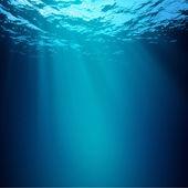 奈落の底。水中の抽象的な背景 — ストック写真