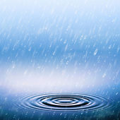 Summer rain, abstract natural backgrounds — Stock Photo