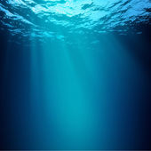 Abyss. Abstract underwater backgrounds — Stock Photo