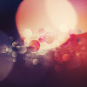 Beautiful abstract bokeh over bright backgrounds for your design — Stock Photo