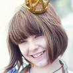 Little princess, beauty female portrait — Stock Photo
