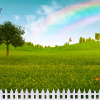 Countryside, abstract natural landscape for your design — Stock Photo
