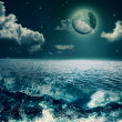 Beauty Ocean, abstract natural backgrounds for your design — Stock Photo #27191471