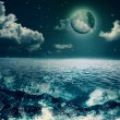 Beauty Ocean, abstract natural backgrounds for your design — Stock Photo