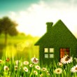 Stock Photo: Green House. Abstract environmental backgrounds