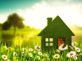 Green House. Abstract environmental backgrounds — Stock Photo