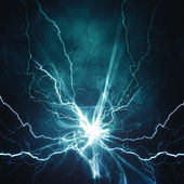 Electric lighting effect, abstract techno backgrounds — Stock Photo