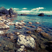 Day time on the sea, natural landscape for your design — Stock Photo