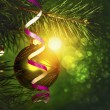 Xmas abstract backgrounds with beauty bokeh for your design — Stock Photo