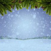 Abstract winter and Xmas backgrounds for your design — Stock Photo