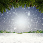 Abstract winter and Xmas backgrounds for your design — Foto de Stock