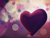 Con amor en mi corazón. — Foto de Stock