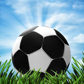 Soccer and football. Abstract sport backgrounds for your design — Stock Photo