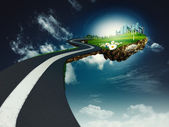 Road to another world — Stock Photo
