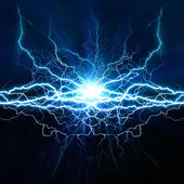Electric lighting effect — Stock Photo