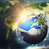 Global sustainable development concept — Stock Photo